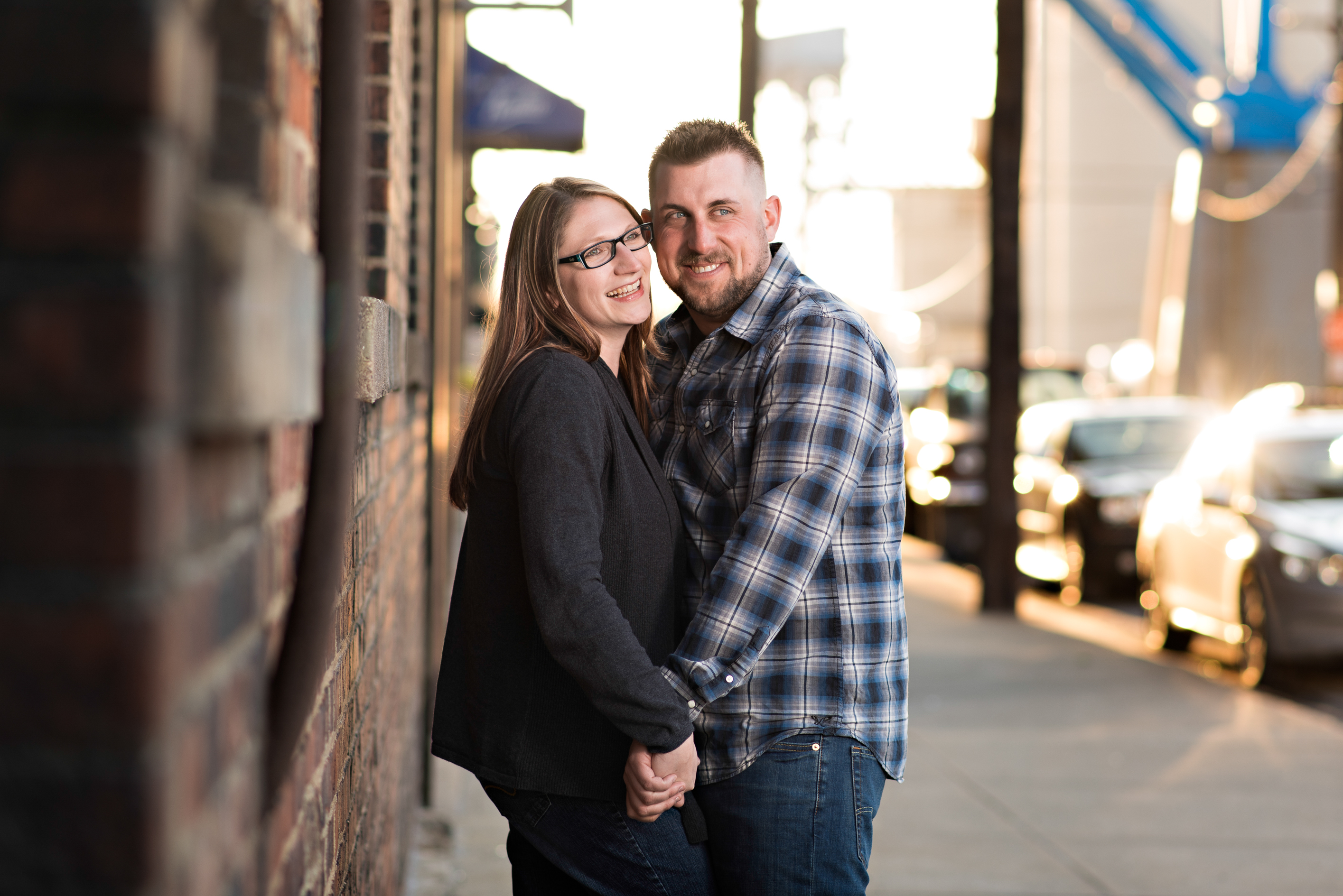 Cleveland wedding photography,  Cleveland engagement shoot, Flats engagement shoot